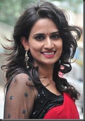 telugu_actress_chinmayi_ghatrazu_hot in saree