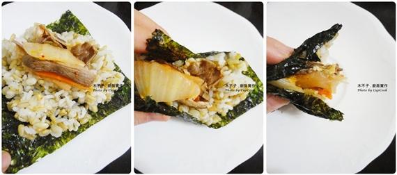 kimchi fried pork sushi-horz