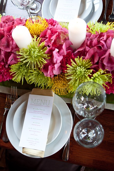 Wedding Centerpiece - Ideas in Bloom, Amie Fedora Photgraphy