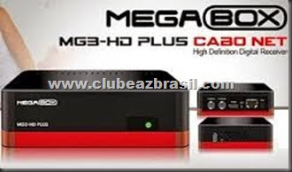 ATUALIZAÇÃO MEGABOX MG3 HD PLUS CABO V.220