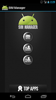 Screenshot of SIM Manager