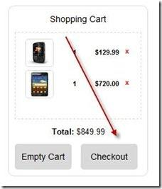 shopping cart template