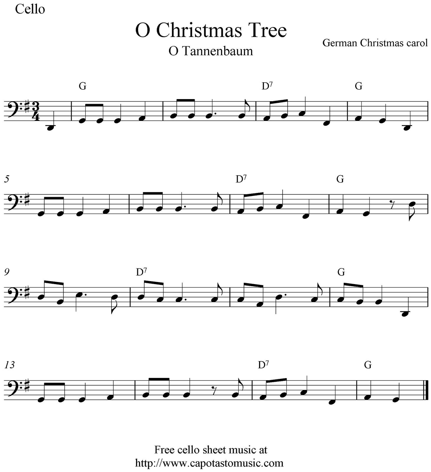 Free Christmas Sheet Music For Beginner Trumpet