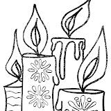 Colorear dibujos de Navidad