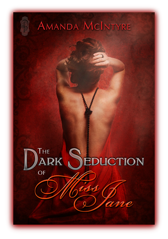book cover - the dark side of miss jane by amanda mcintyre