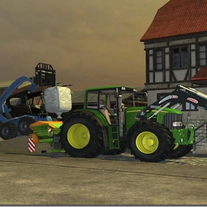 Farming simulator 2013 - Ramp for Loading Goods v 1.0 Mod