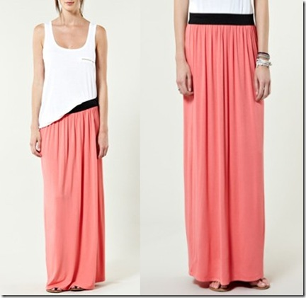 WH maxi skirt