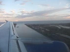 aterrizando en El Prat