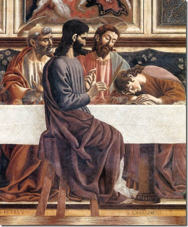 andrea del castagna the last supper