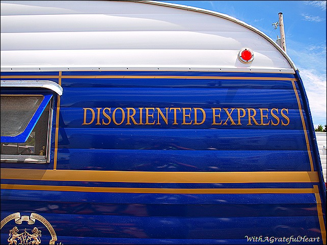 Disoriented Express Decal