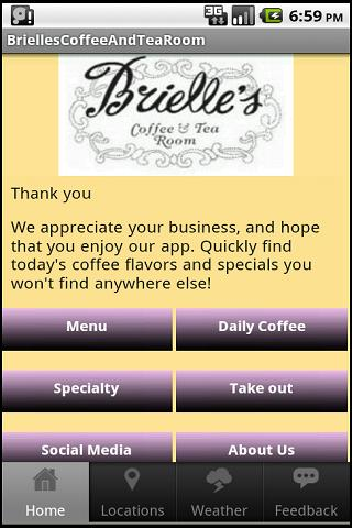 Brielle's Coffee and Tea Room