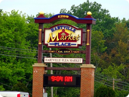 Hartville Flea Market sign