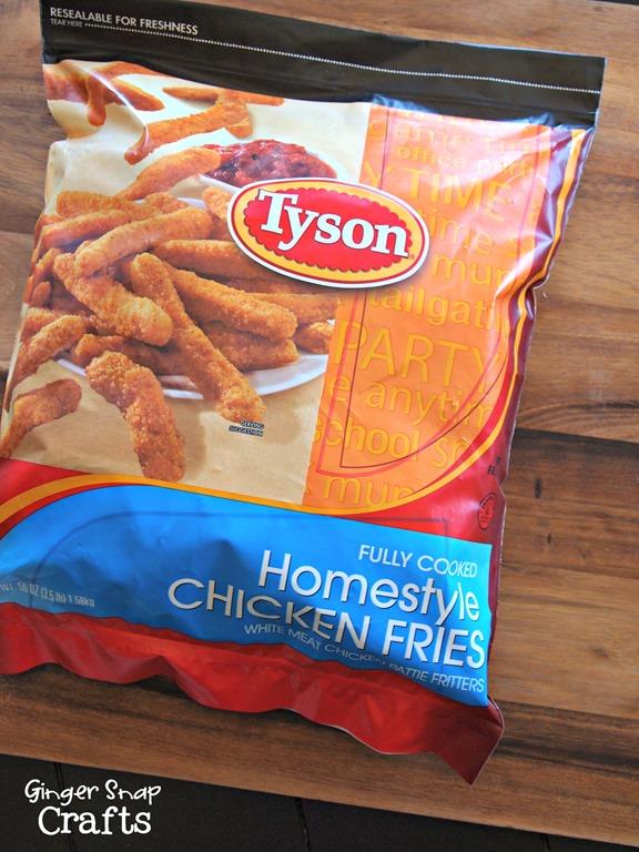 Tyson Homestyle Chicken Fries #chickenfrytime