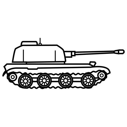 Dibujo De Carro Tanque