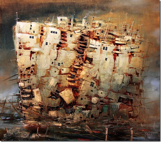 Back To The Harbour-Modestas-Malinauskas-ENKAUSTIKOS