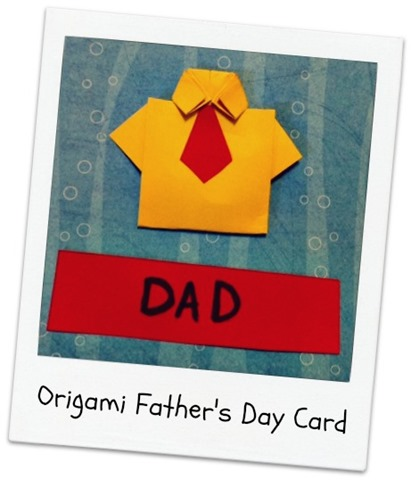 #origami father's day