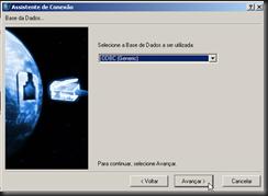 dbAcces : Assistententes : Assistente de Conexão : ODBC (Generic) : Entre com o Ambiente a ser Testado