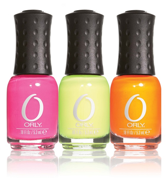 Orly Topshop Neon Trio