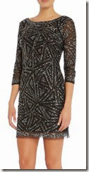 Untold Sequin Shift Dress