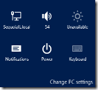 Windows Settings Bar