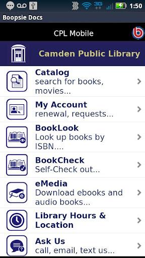 Camden Public Library Mobile