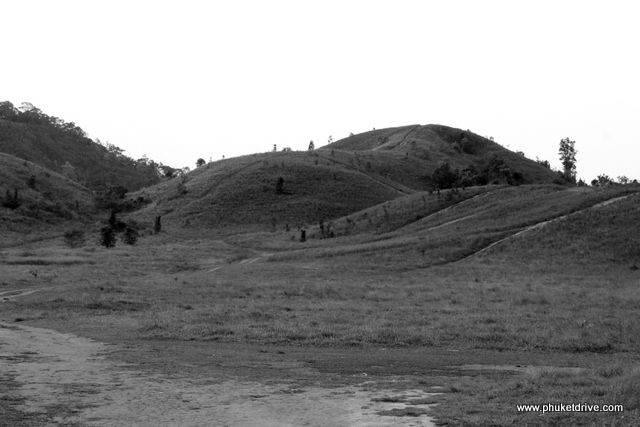 Ranong: Phukhao Ya, Grass Hill / Ранонг: Лысые холмы