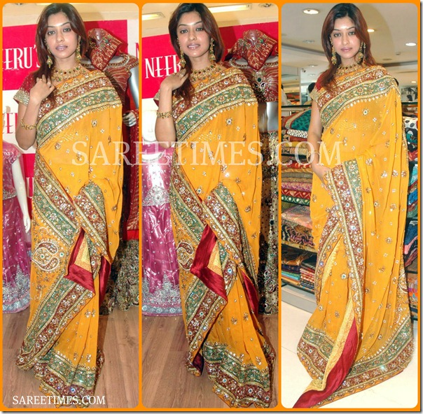 Harika_Payal_Yellow_Embroidery_Saree