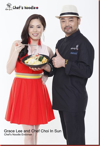 Chef's Noodle's Grace Lee and Chef Choi In Sun