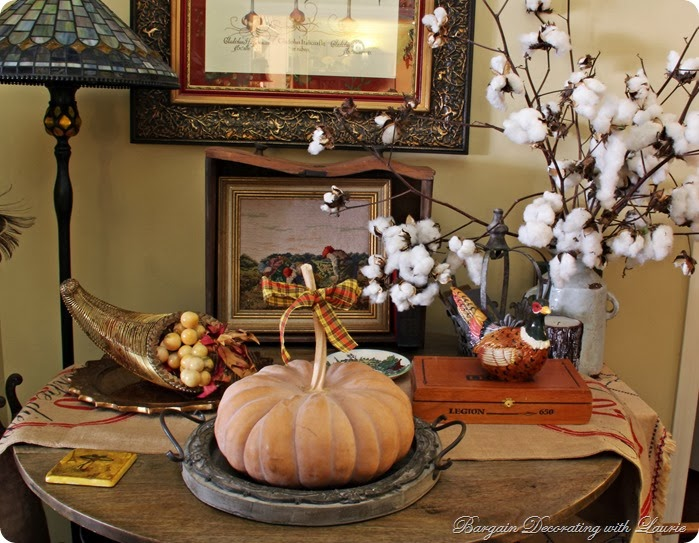 Thanksgiving-Bargain Decorating with Laurie