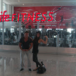GoodLife Fitness at Pearson Airport in Toronto in Toronto, Ontario, Canada