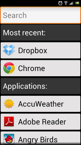 Big Launcher Android 3
