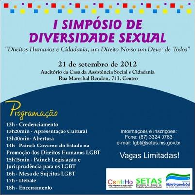 I Simpósio de Diversidade Sexual