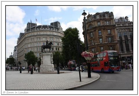 Statue of Charles I Trafalgar