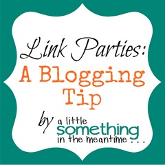 Link Parties Blogging Tip Banner
