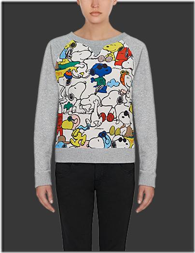 Fay Snoopy Fleece Top GBP 265 - 01