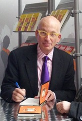 Seth Godin autographing Poke The Box at The Art of Sales (Nov 22, 2011)