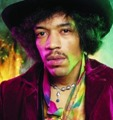 Jimi Hendrix - guitarra e vocal