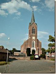Sint-Truiden, Aalst-bij-Sint-Truiden: Kerk van O.L.V. Onbevlekt ontvangen (neo-gotisch, 1854).