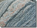 grey and red gneiss