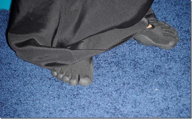 Vibram feet