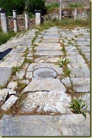 Aphrodisias Sebastieon Drains under temple