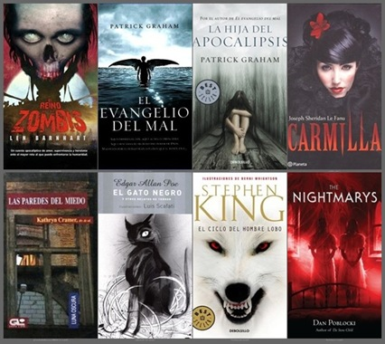 pack libros terror