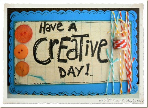 Creative Day Card