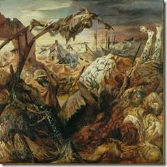 21-10b otto dix - trittico della guerra - pannello centrale alto