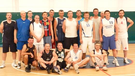 Сборная команда ветеранов баскетбола Украины 40+