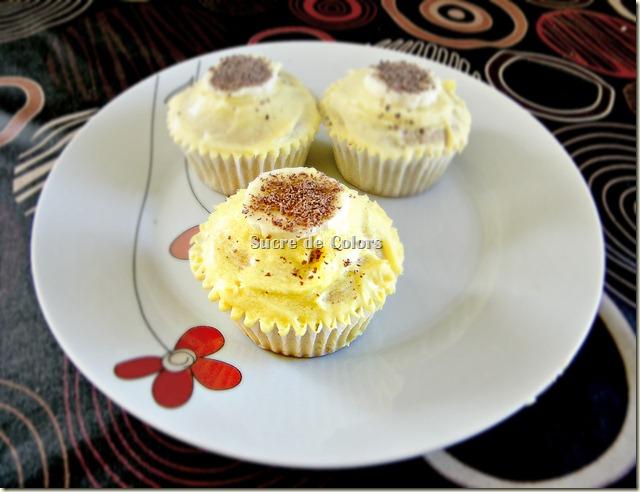 Cupcakes Bannana Split