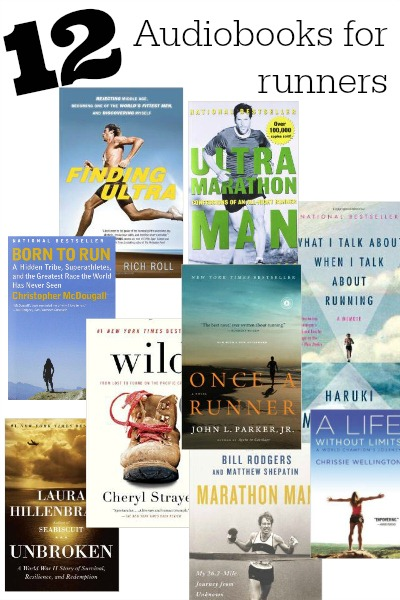 Top 12 Audiobooks for Runners ~ Runner training for life