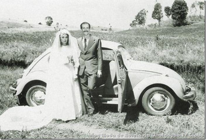 moda da novela avenida brasil - vestido de noiva da muricy c
