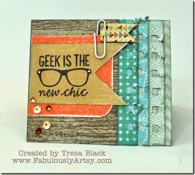 Geek is chic card