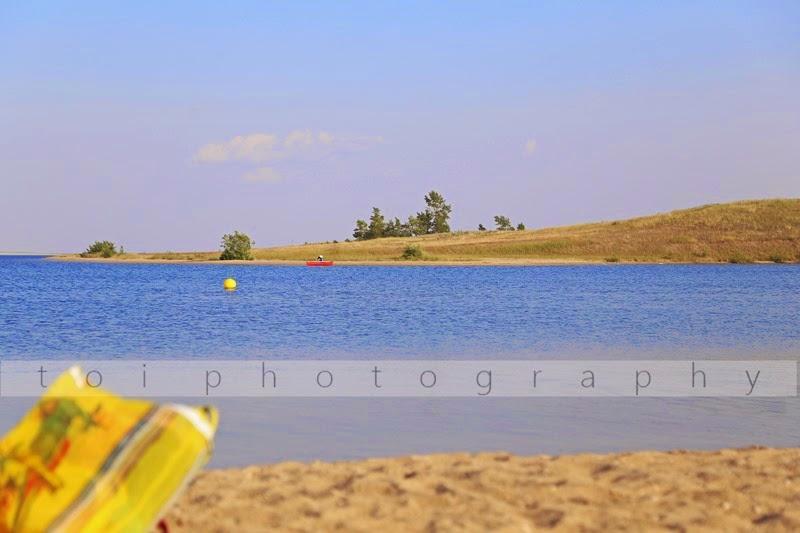 lake side fishing